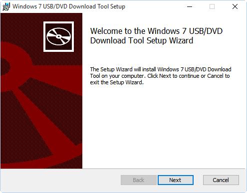 Windows 7 USB-DVD Download Tool Setup 01